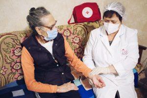 Один день с медико-социальной службой
