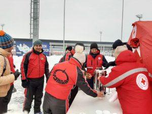 Спортивные выходные с Красным Крестом