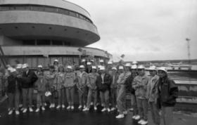 Помощь Красного Креста ликвидаторам Чернобыльско катастрофы