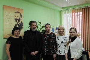 Встреча с представителем УВКБ ООН в Беларуси